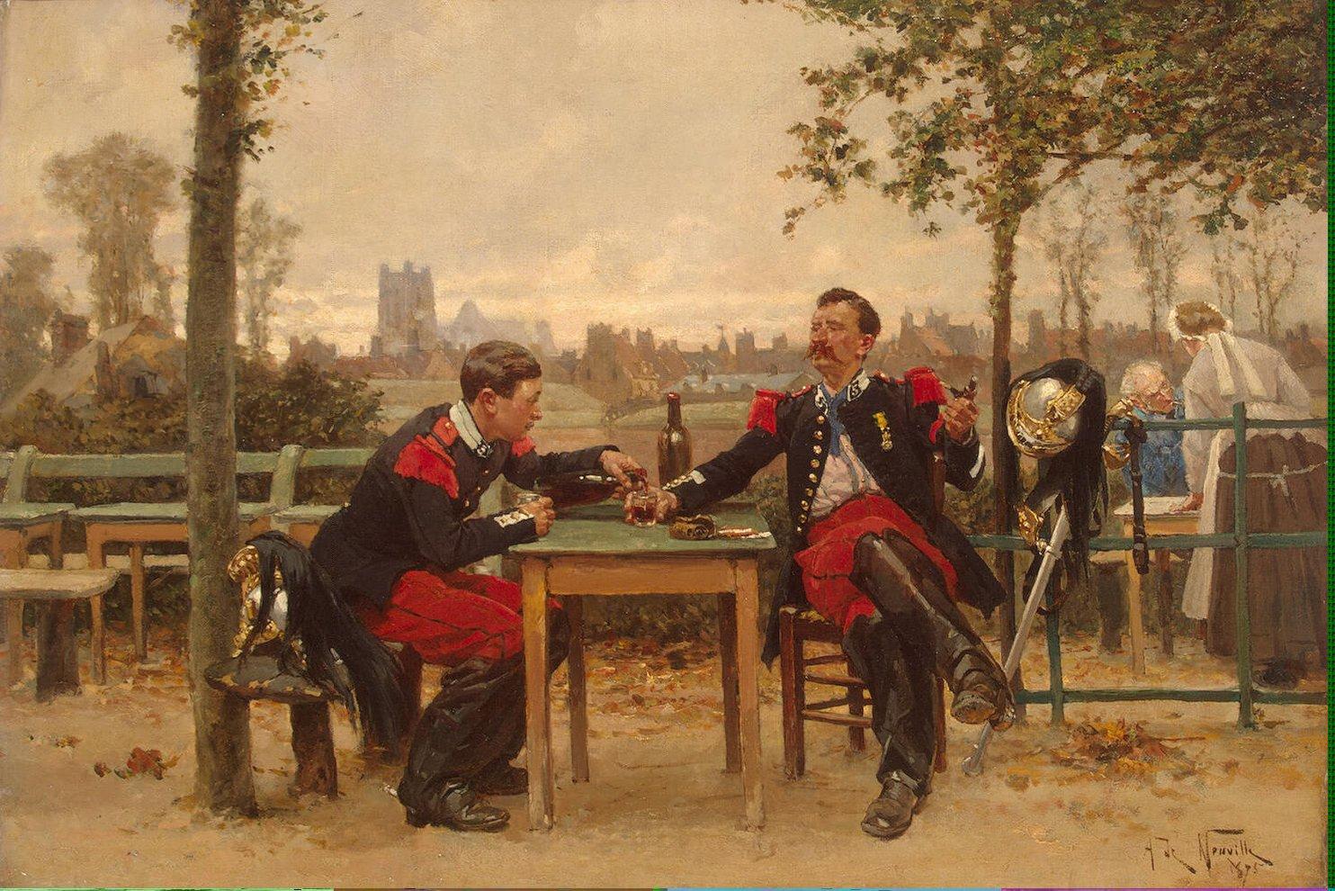Neuville_Alphonse_Marie_de-ZZZ-Regaling_the_Commander