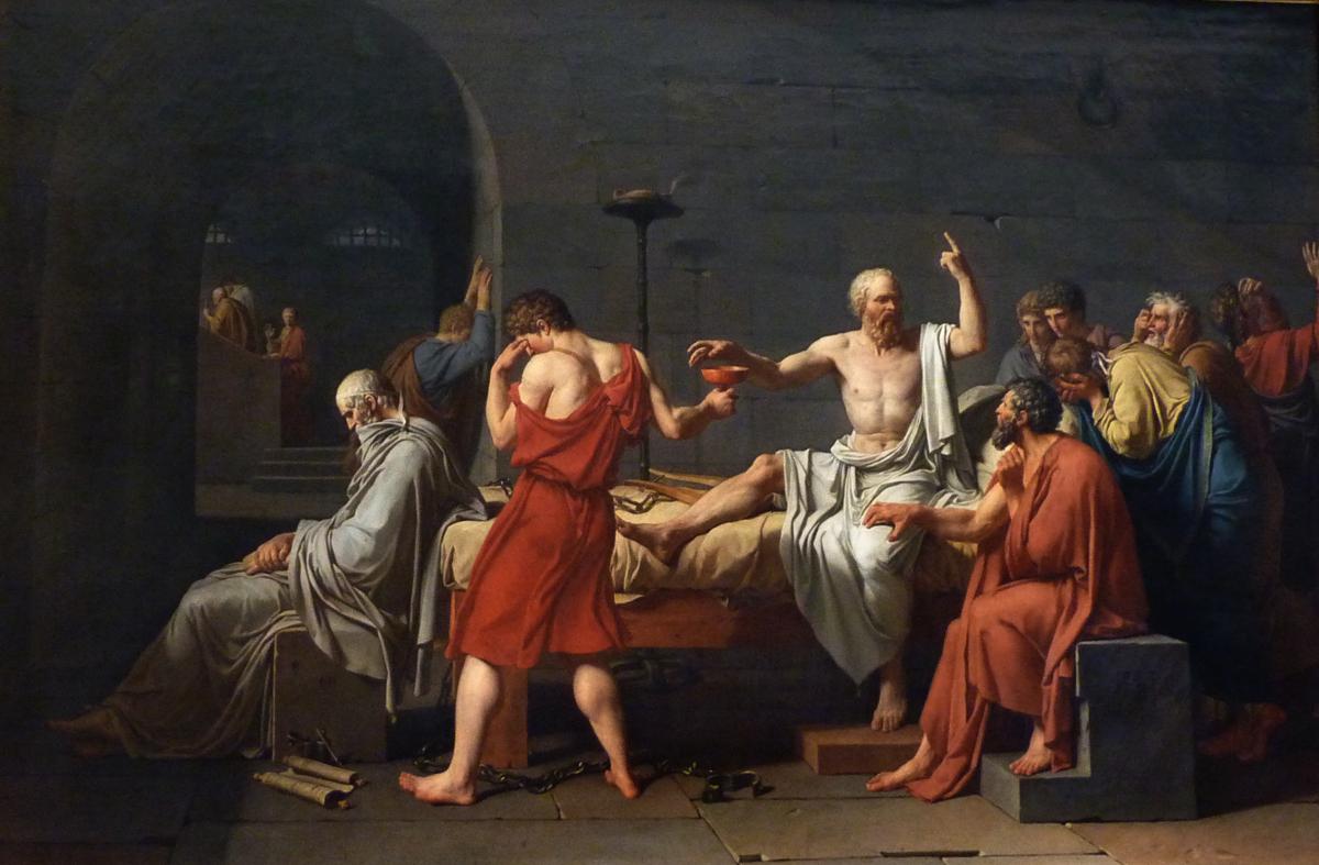 Socrates_David