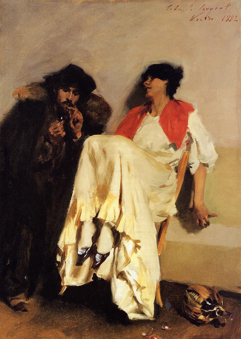 The_Sulphur_Match_John_Singer_Sargent_1882