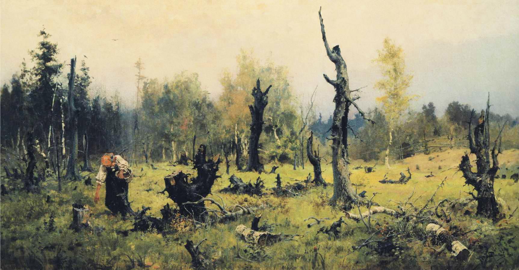 Vasily_Polenov_-_The_Burnt_Forest