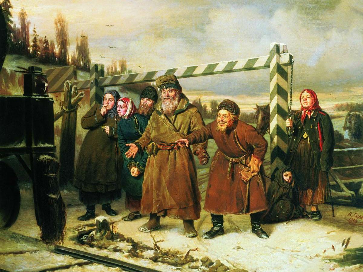 at-the-railroad_perov