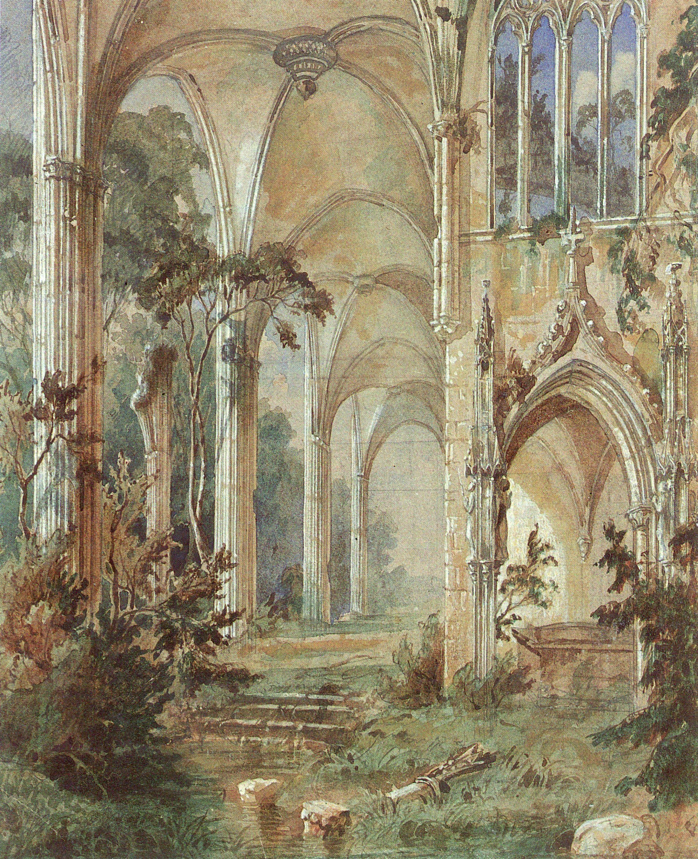 church_ruin_blechen