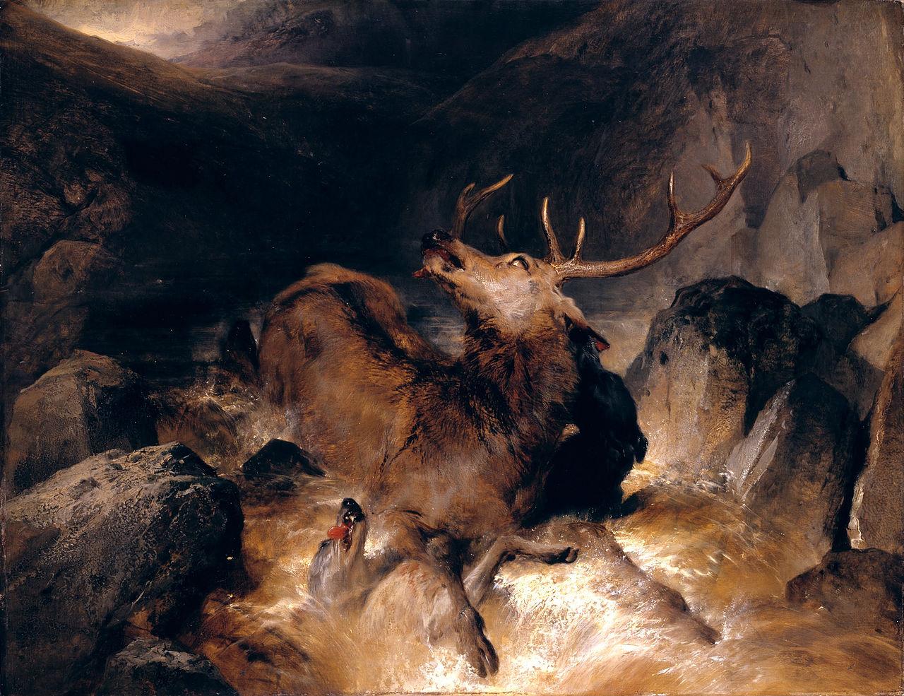 edwin-henry-landseer-deer