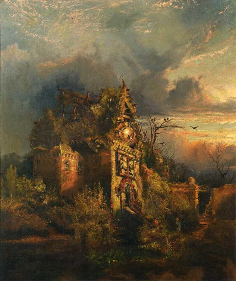 haunted_house_thomas_moran