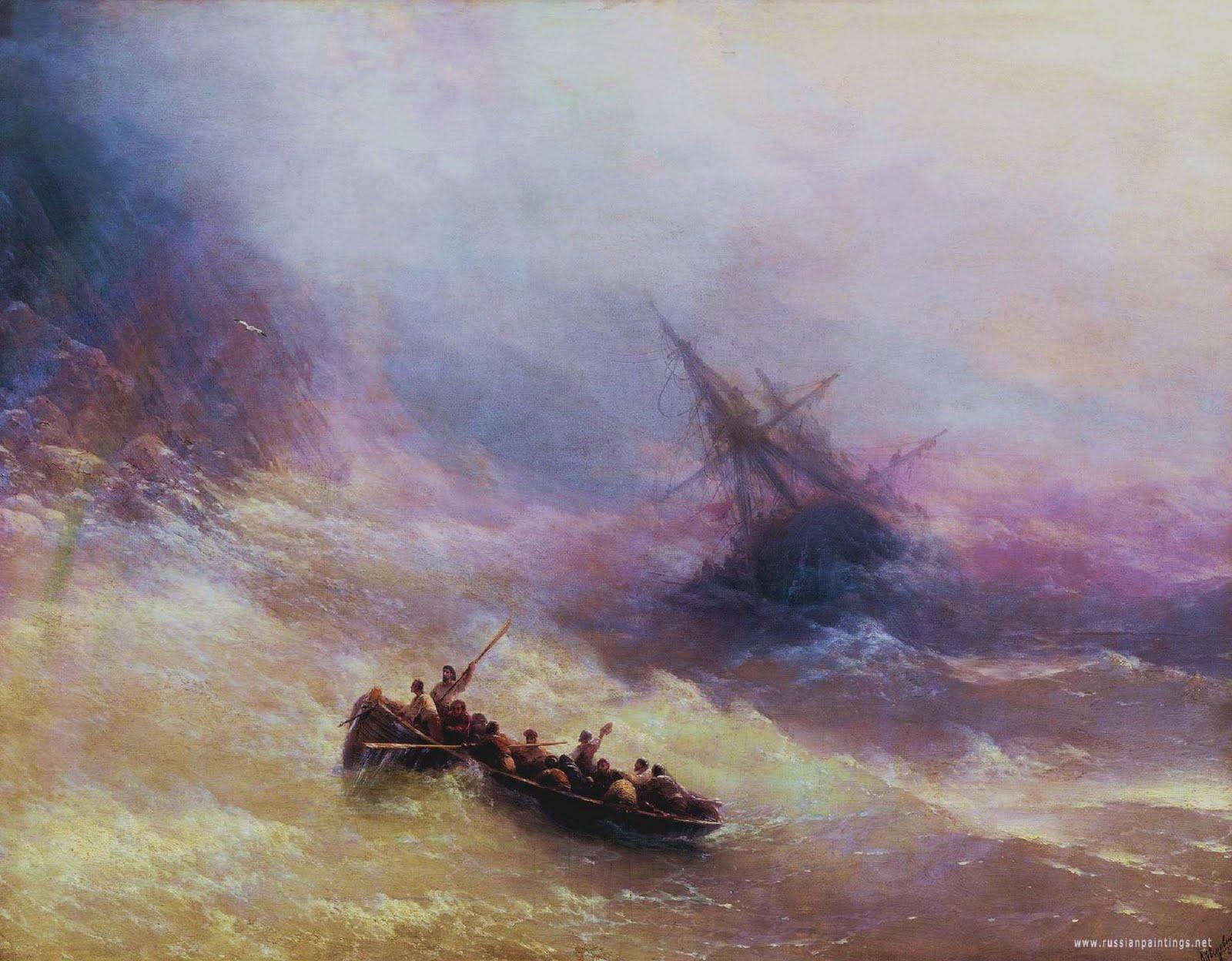 ivan-aivazovsky-rainbow-1848