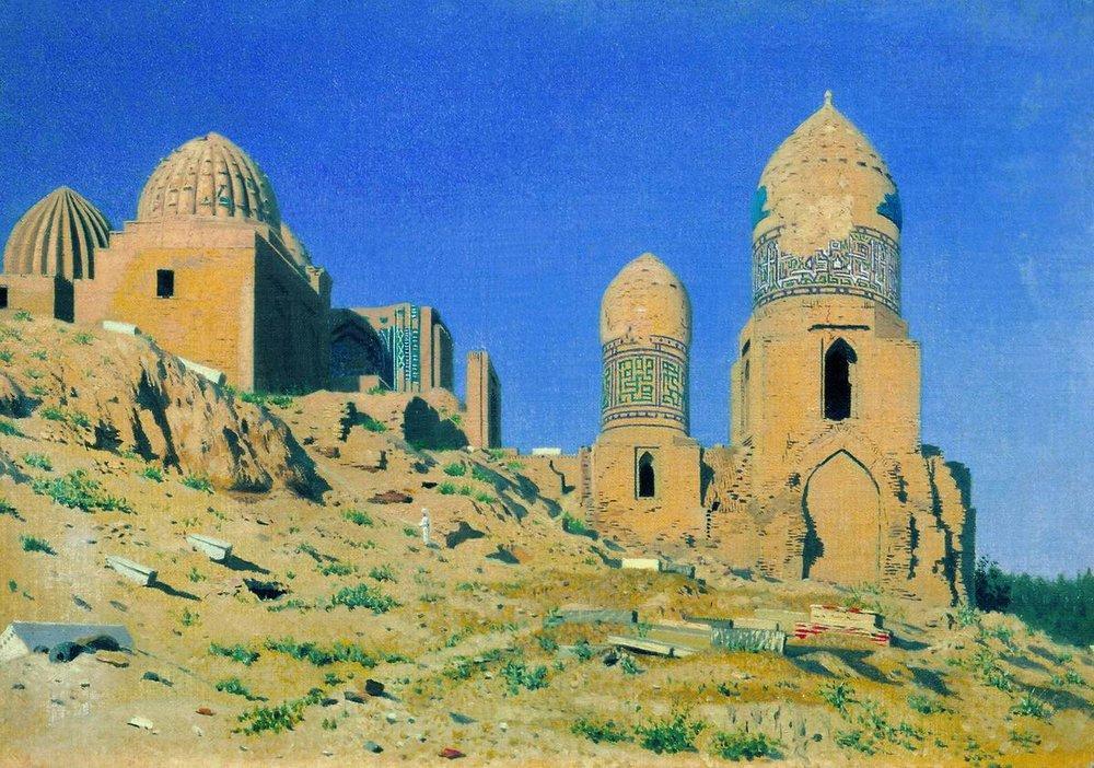 mausoleum-of-shah-i-zinda-in-samarkand-1870_vereschagin