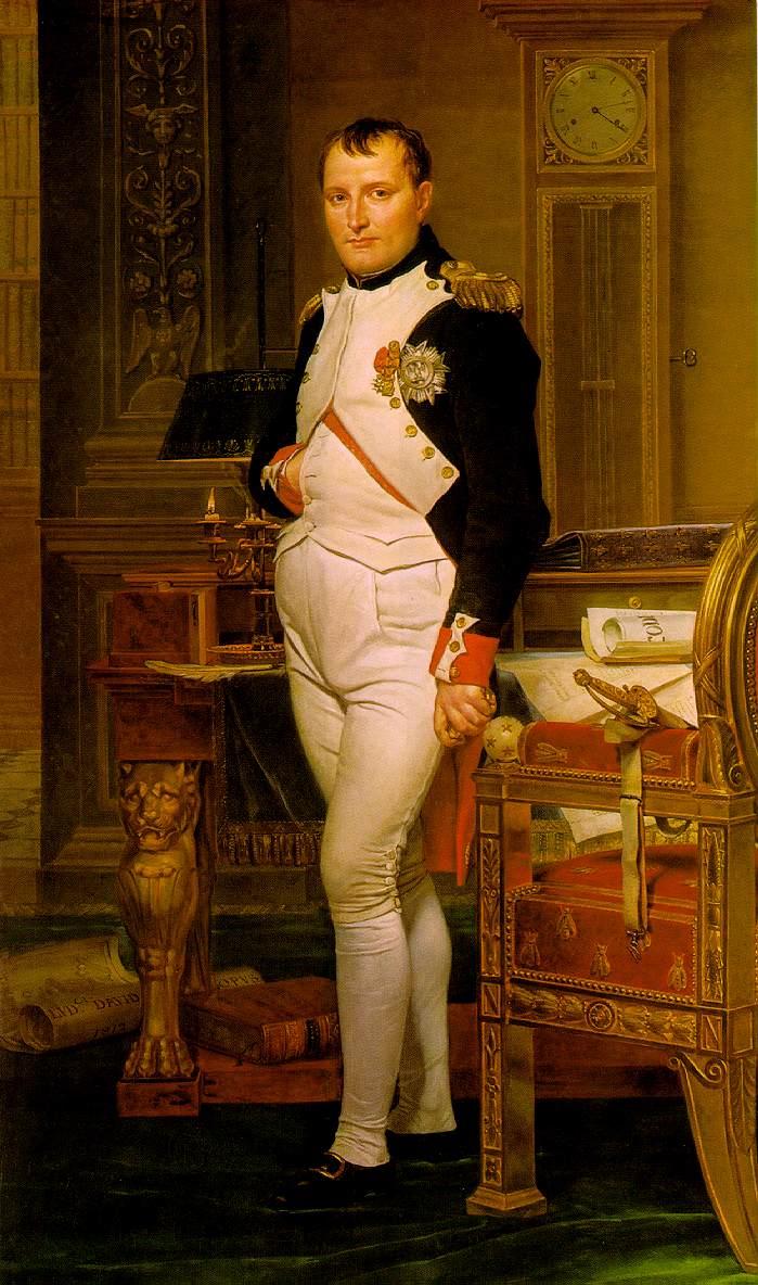napoleon-study_David