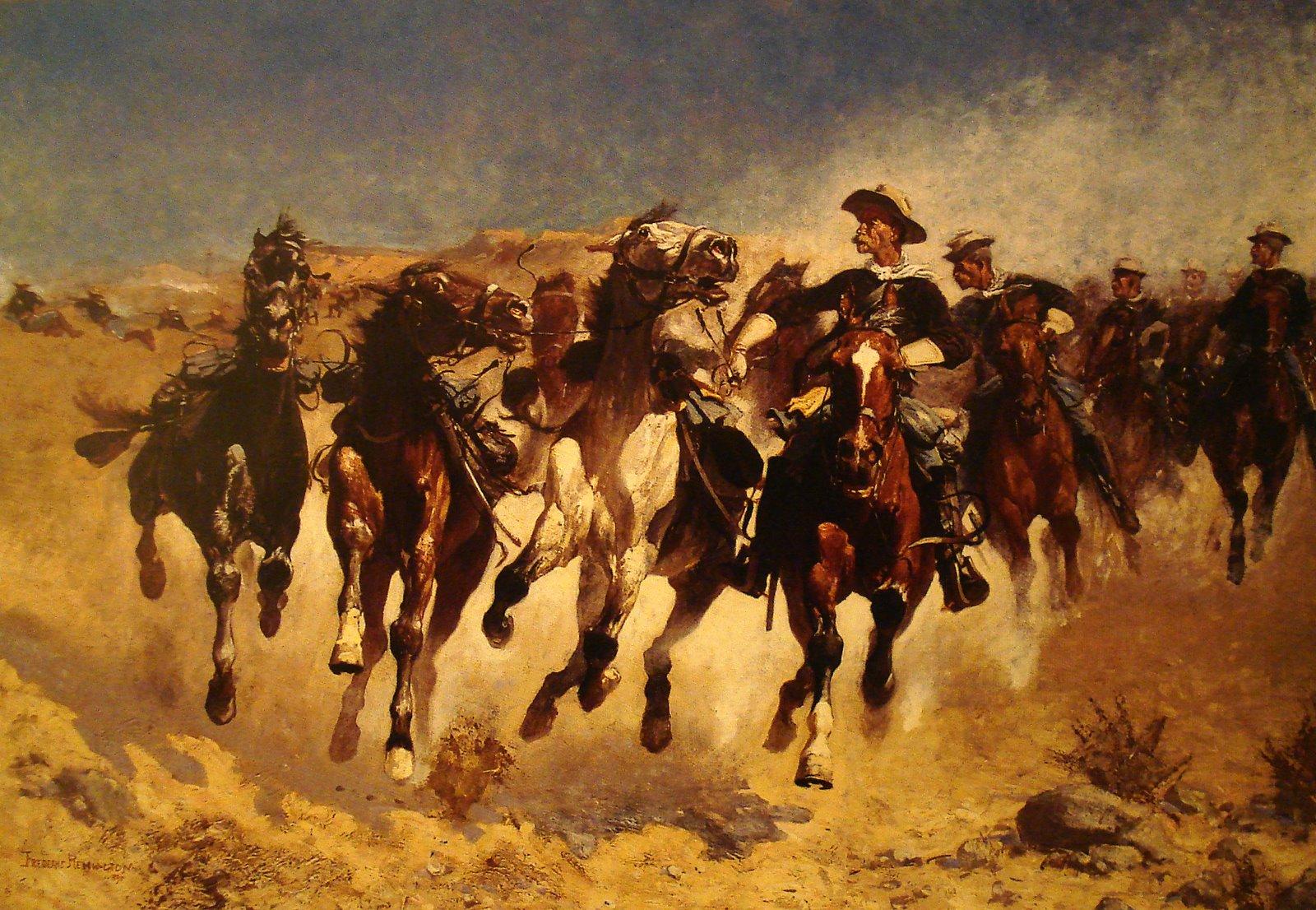 remington_horses