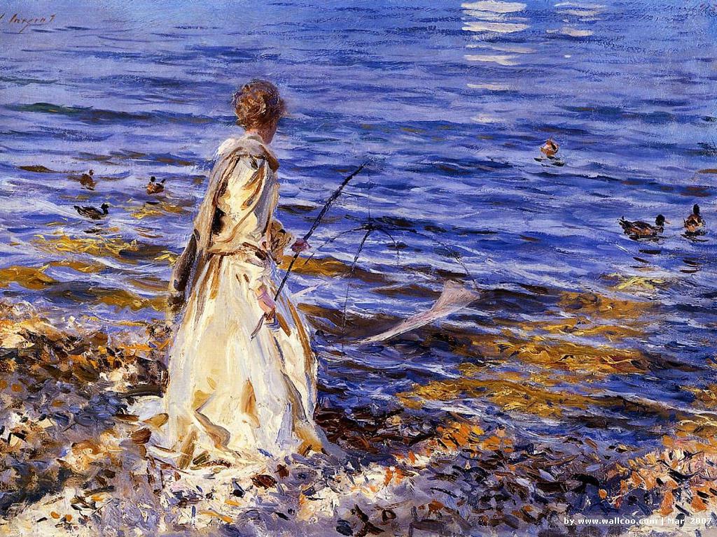 sargent_woman_at_sea