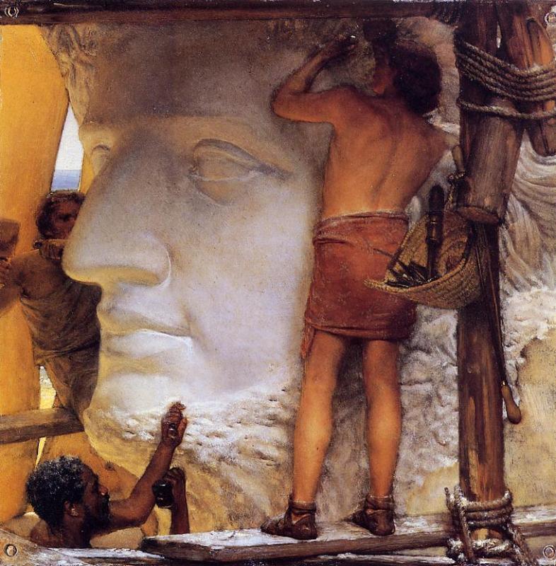 sculptors-in-ancient-rome-1877_tadema