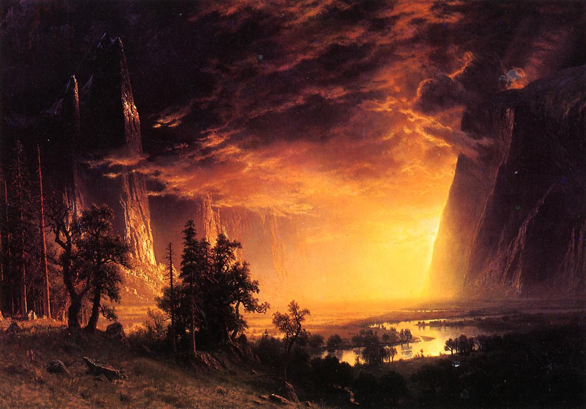 sunset-in-the-yosemite-valley-1869_Bierstad