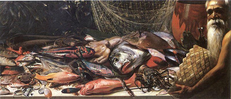 -Hubert_Vos_-_'Study_of_Hawaiian_Fish',_oil_on_canvas._1898,_Honolulu_Academy_of_Arts