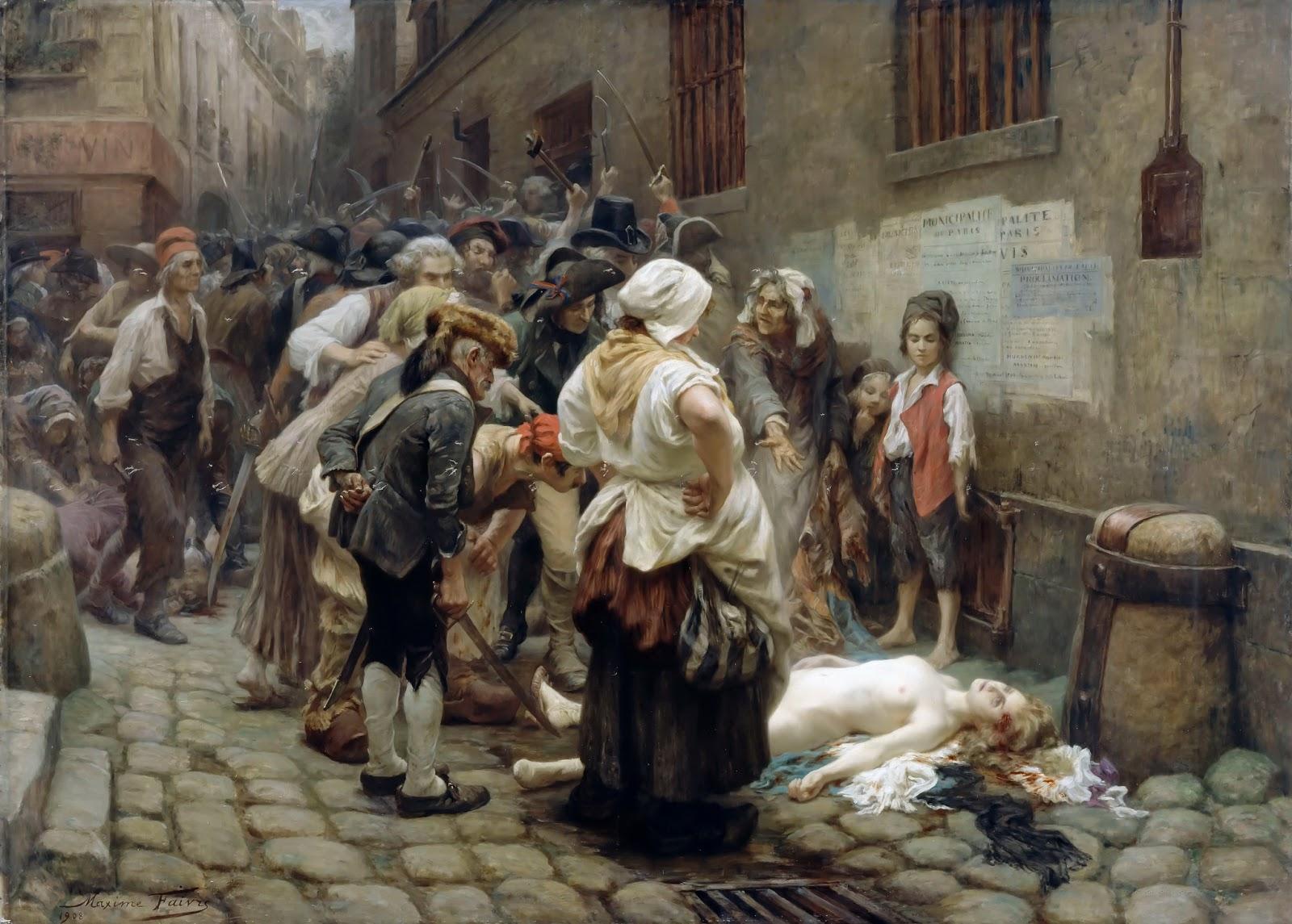 Death of the Princess De Lamballe, by Leon Maxime Faivre