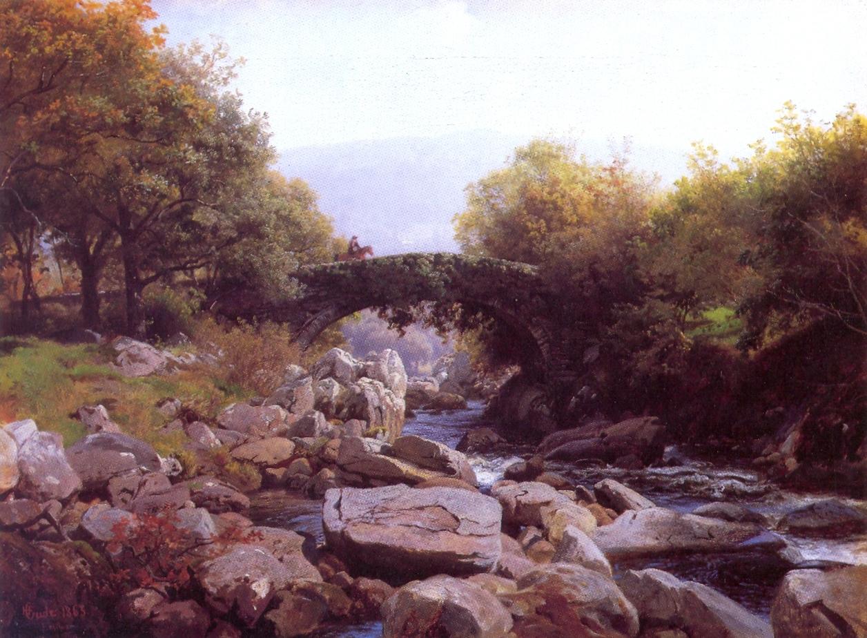 _Gude--Efoybroen,_Nord-Wales--1863Hans