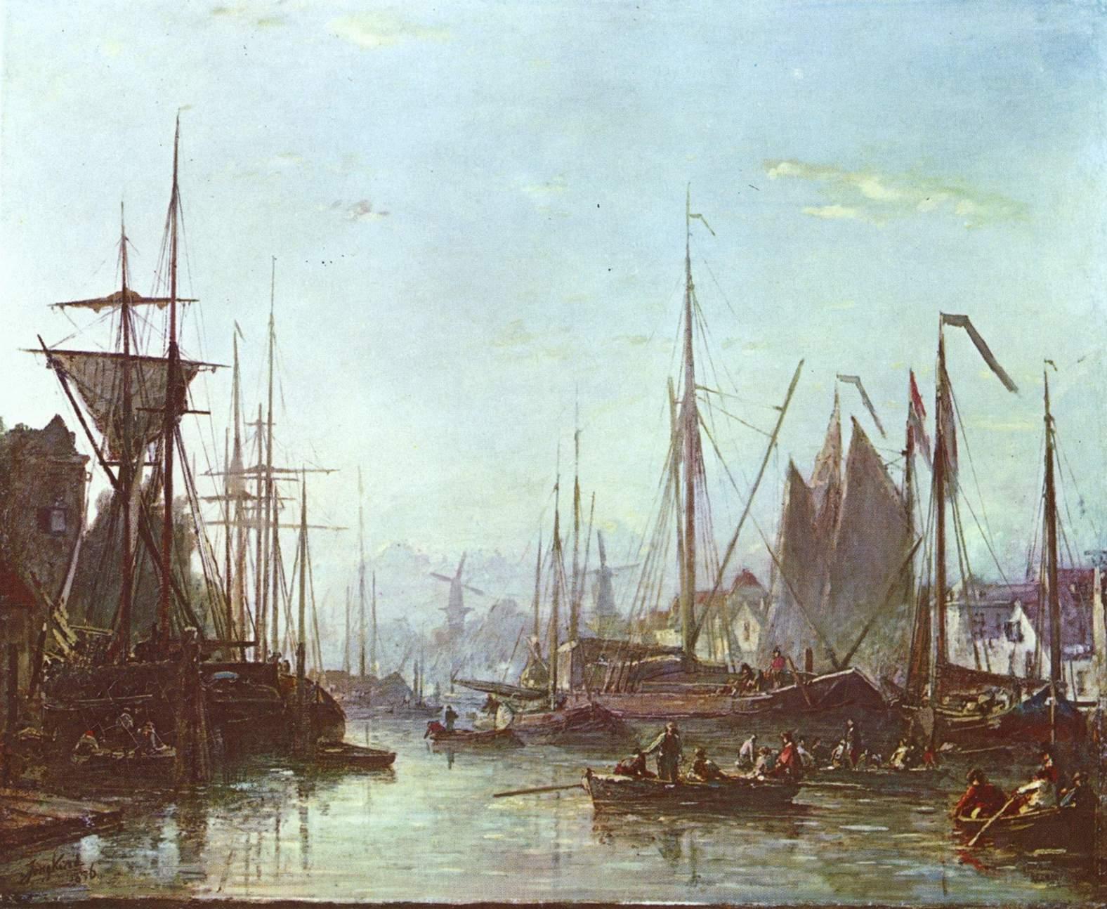 Johan_Barthold_Jongkind_port