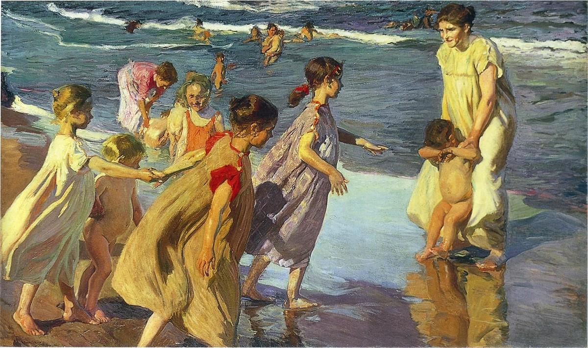 Sorolla_children_at_sea