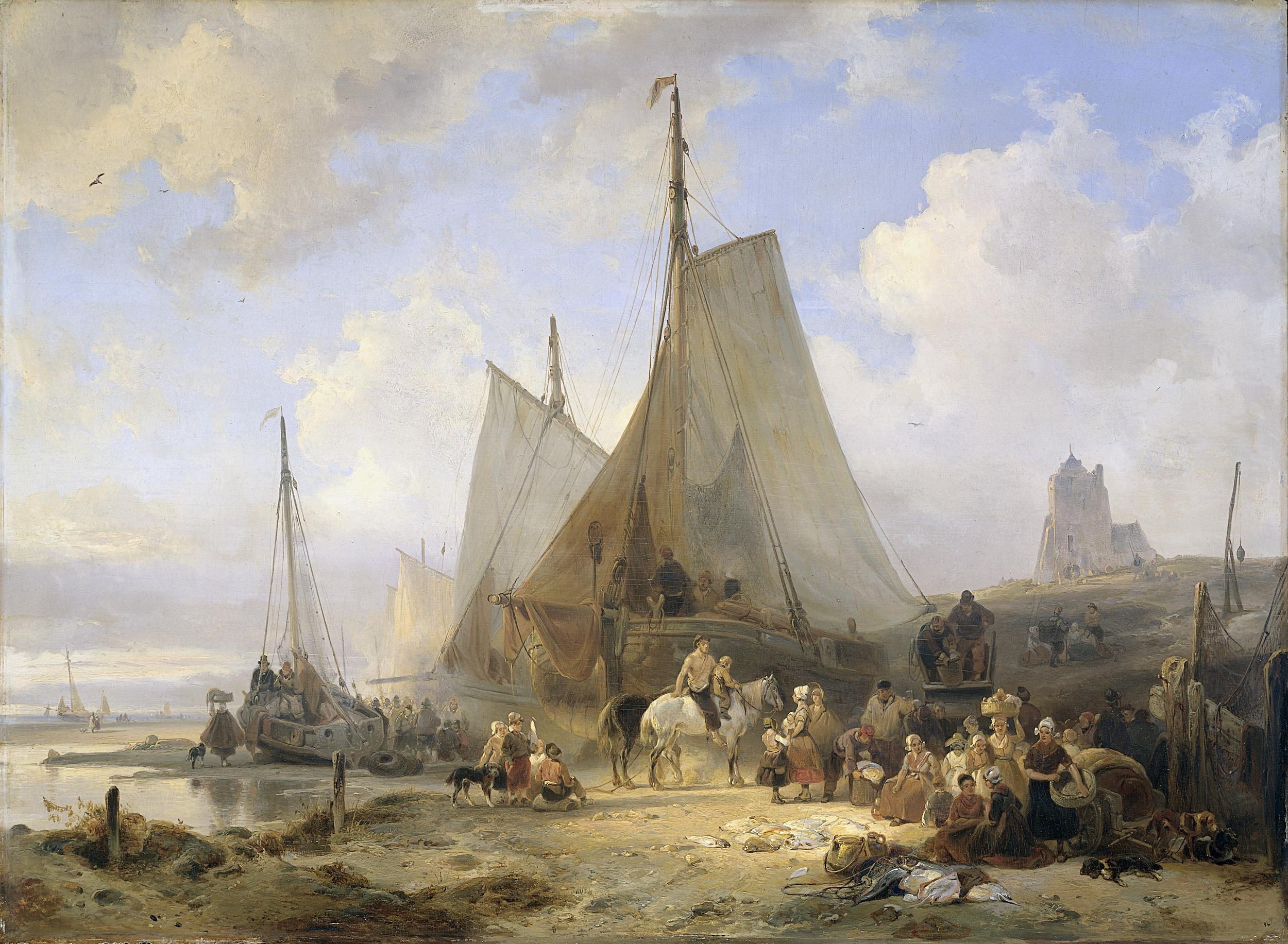 nuijen_ships_on_shore