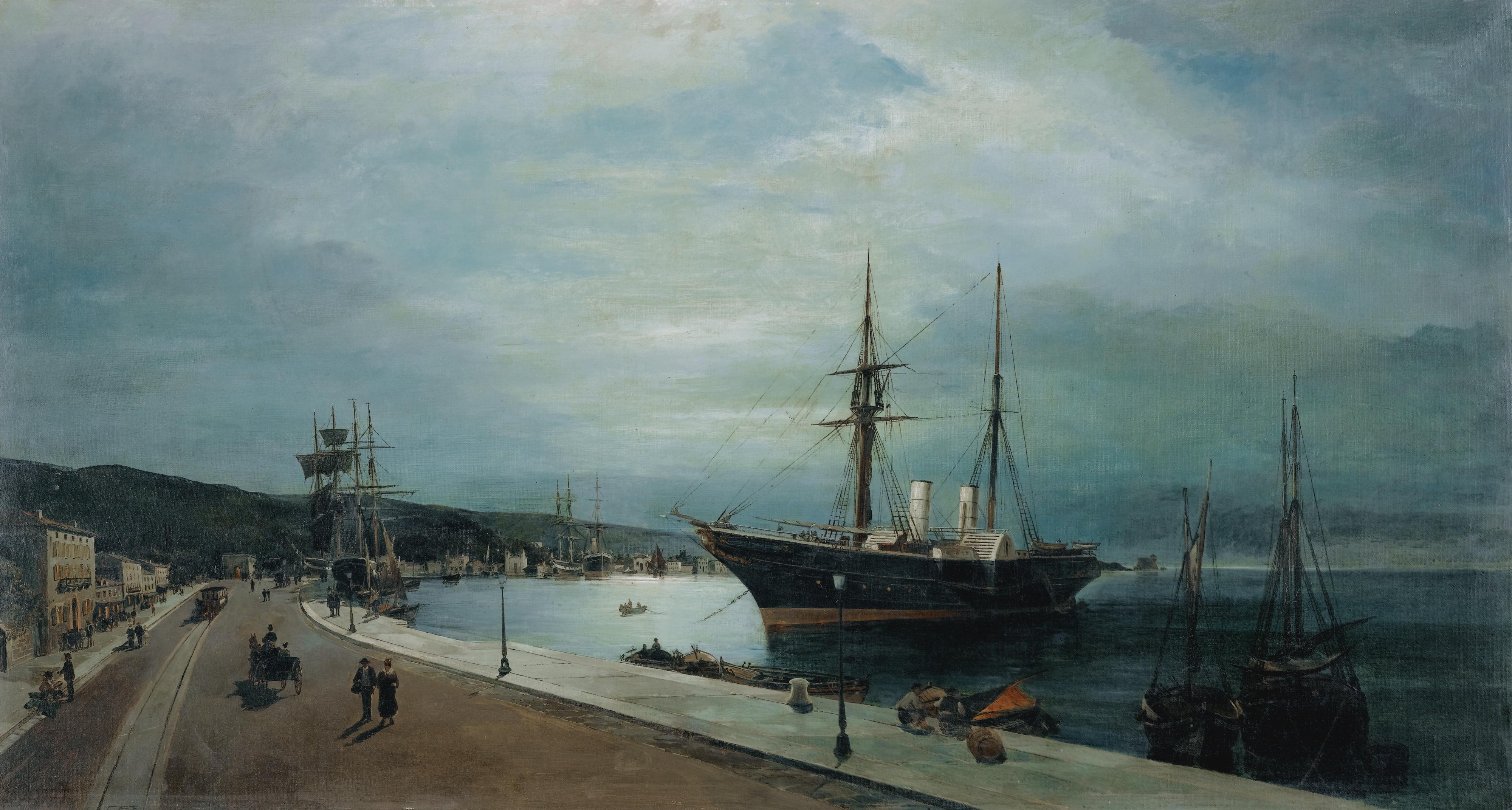 moonlit-harbour-of-volos