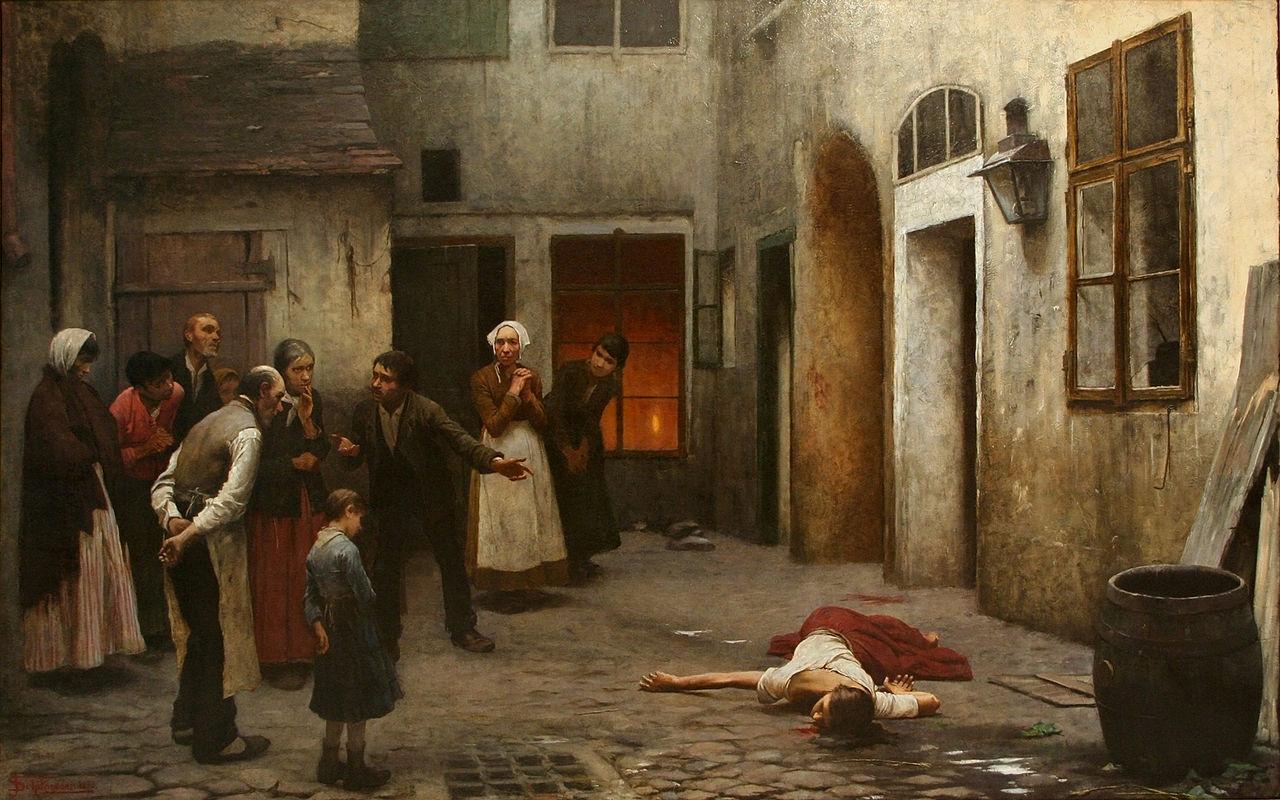 Jakub Schikaneder Murder in the House