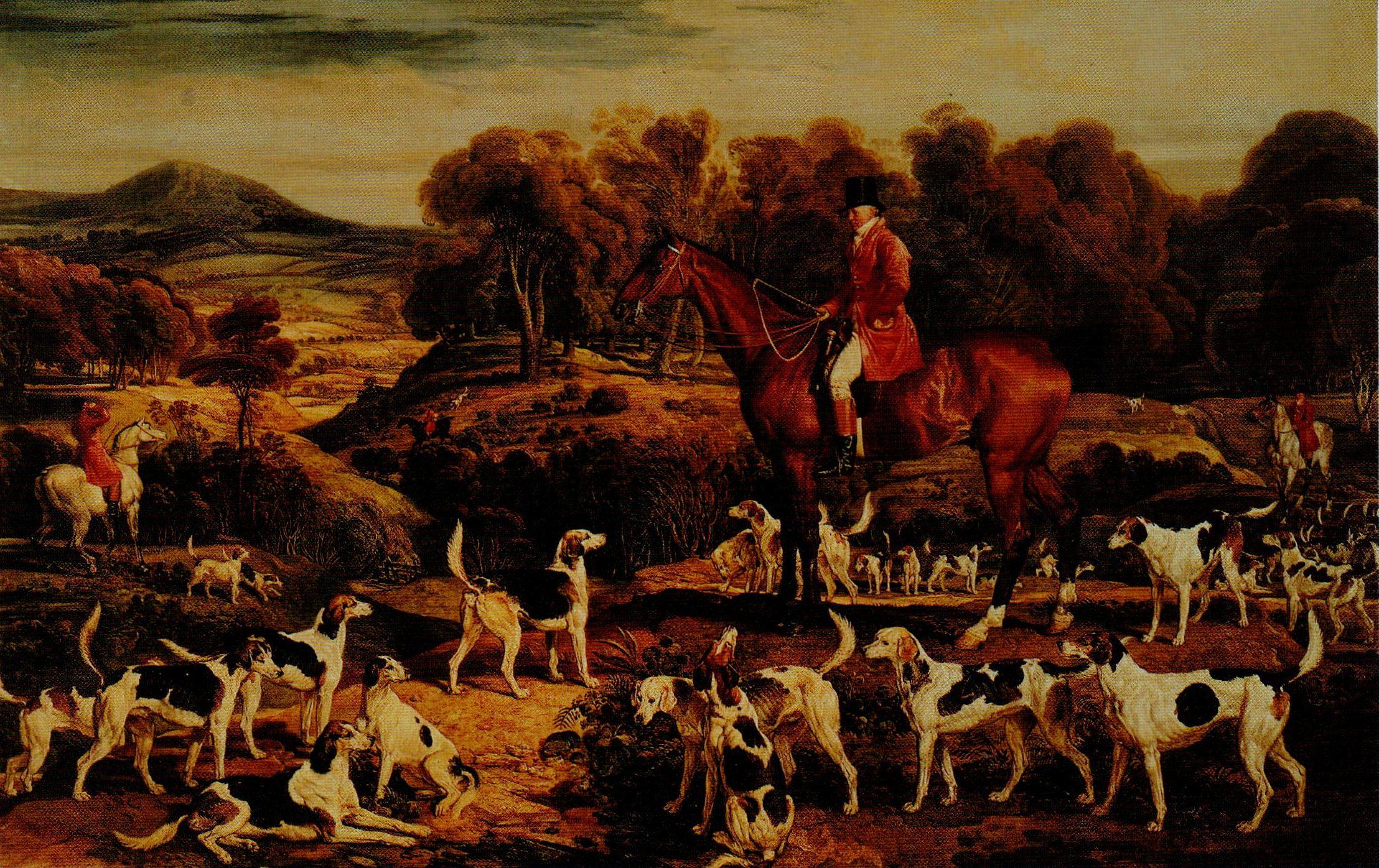 Ward_ Ralph Lambton and his Hounds