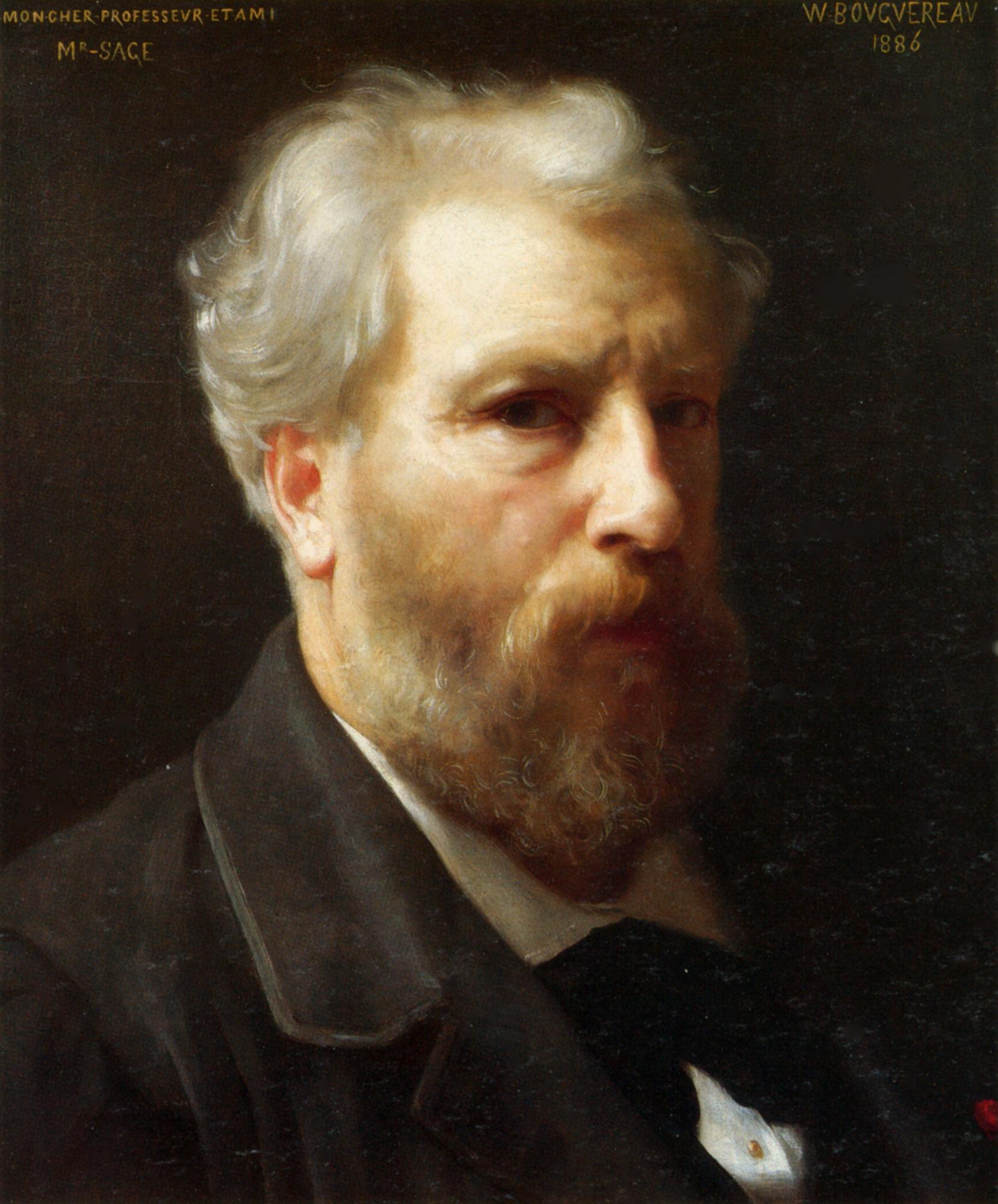William-Adolphe_Bouguereau_(1825-1905)_-_Self-Portrait_Presented_To_M._Sage_(1886)