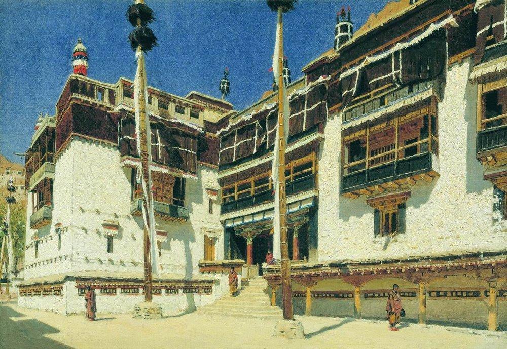 hemis-monastery-in-ladakh-1875_vereschagin