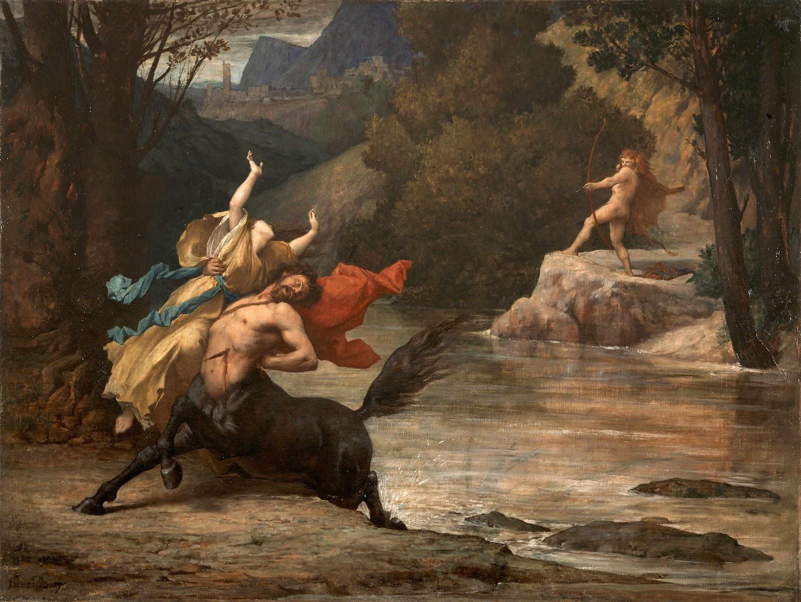 Death of Nessus 1870_delaunay