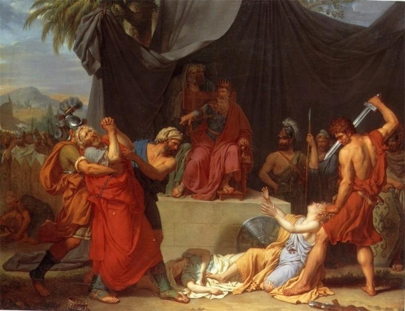 Fabre_Nabuchodonosor_killing_the_sons_of_zedekhia