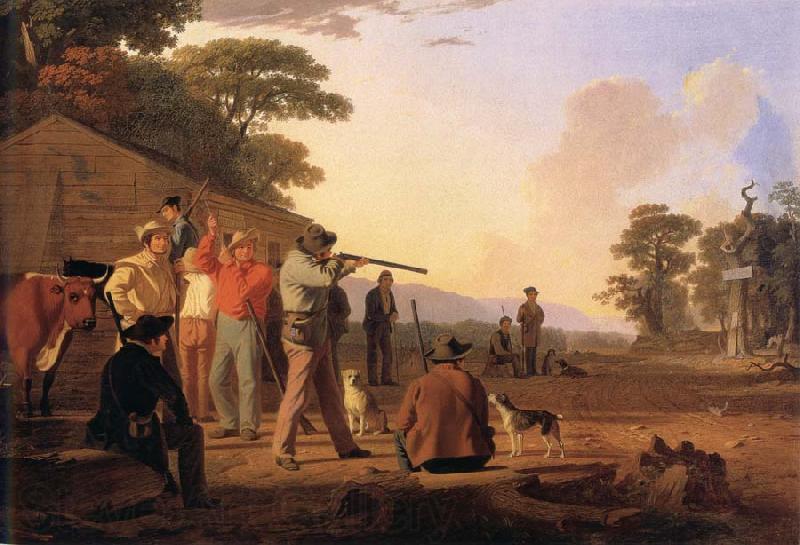 George Caleb Bingham-shooting
