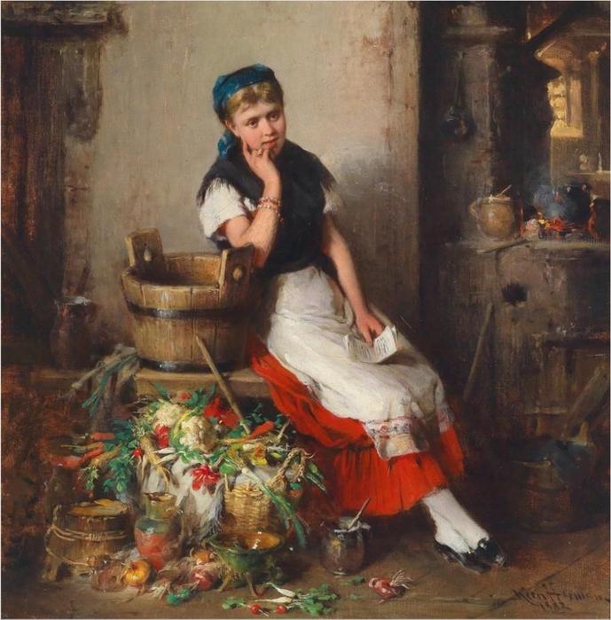 Hermann_Armin_Kern_In_the_Kitchen_1882