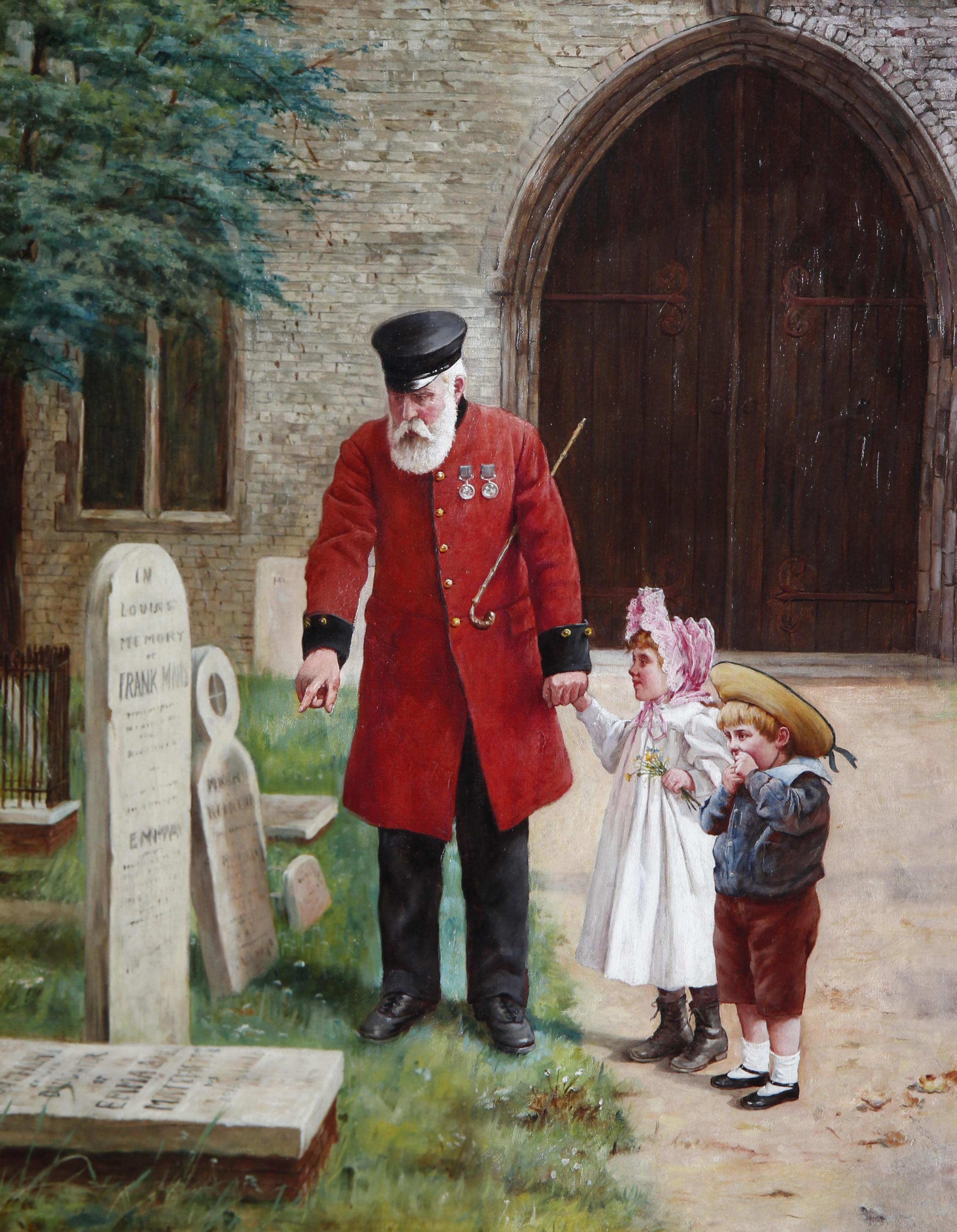 Augustus_Edwin_Mulready_A_walk_with_Grandpa