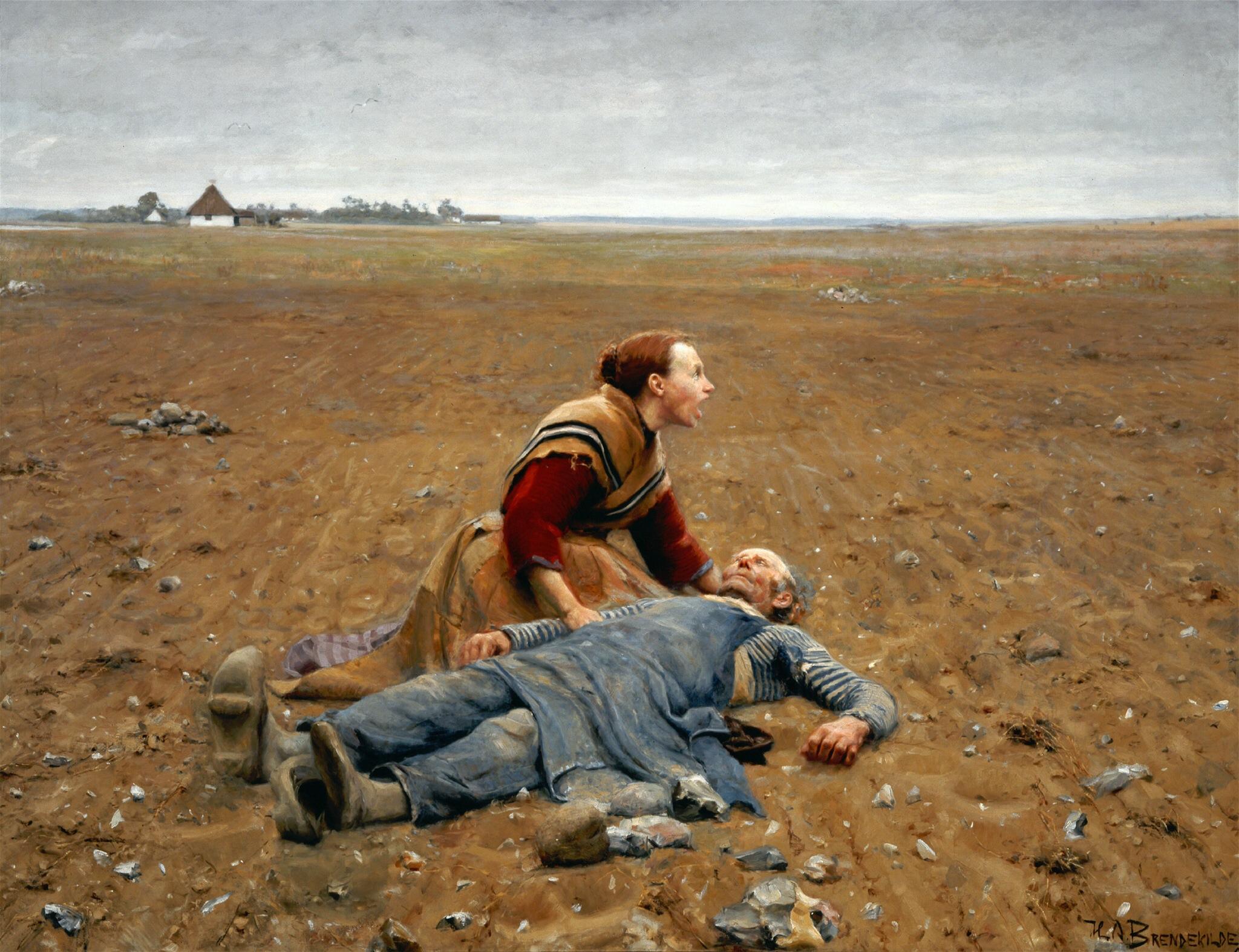 Udslidt_1889_Brendekilde