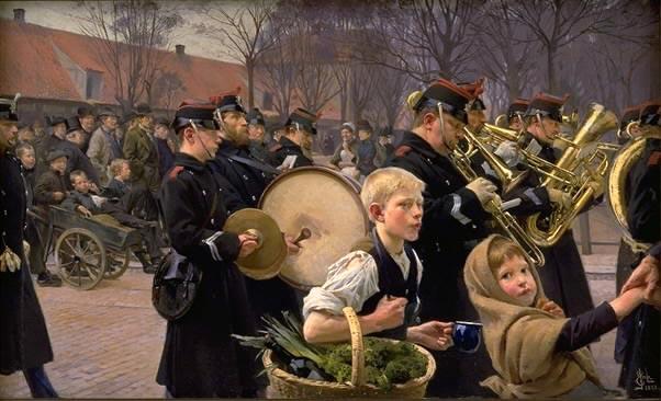 Parade-of-the-infantry-Henningsen-1888