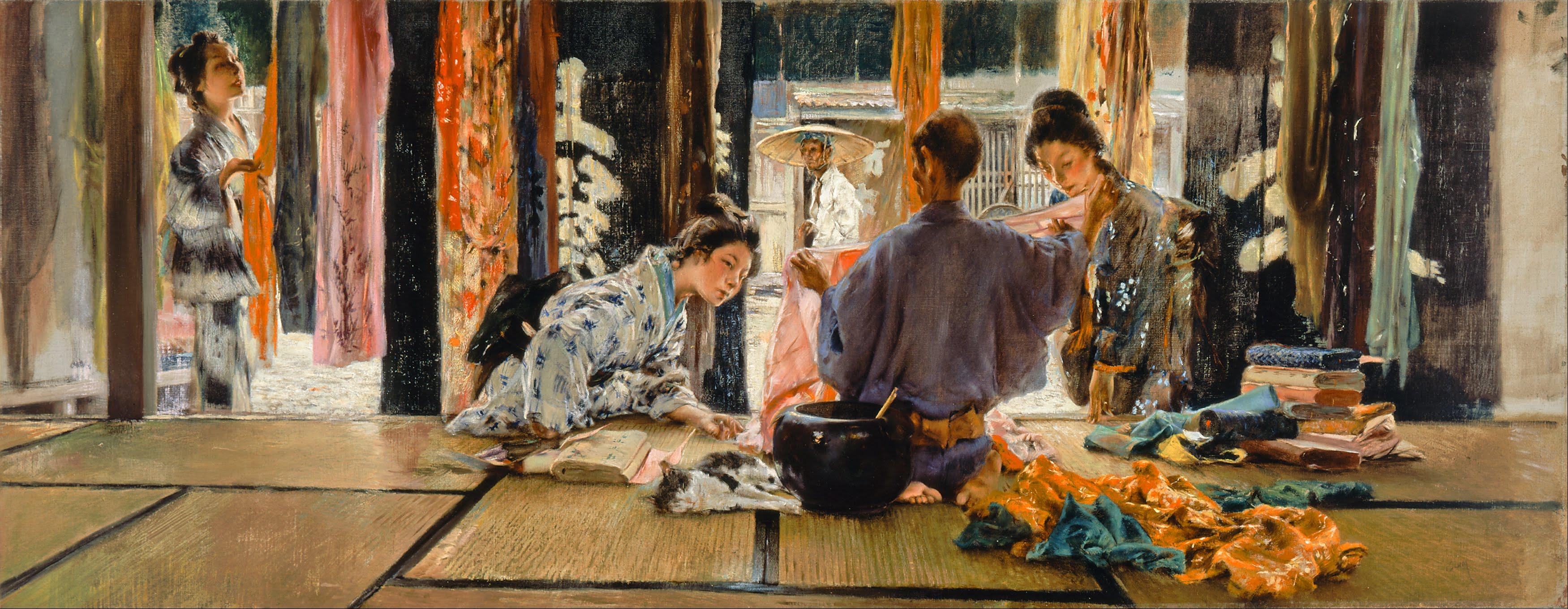 Robert_Frederick_Blum_-_The_Silk_Merchant,_Japan