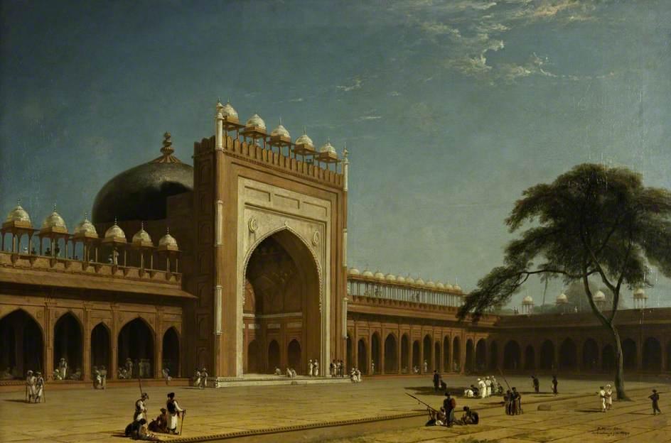 Quadrangle of the Jami Masjid, Fatehpur Sikri